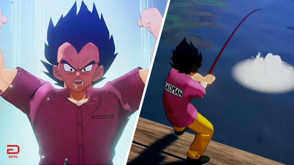 Dragon Ball Z: Kakarot Gameplay Shows Vegeta Fighting And Fishing (VIDEO)