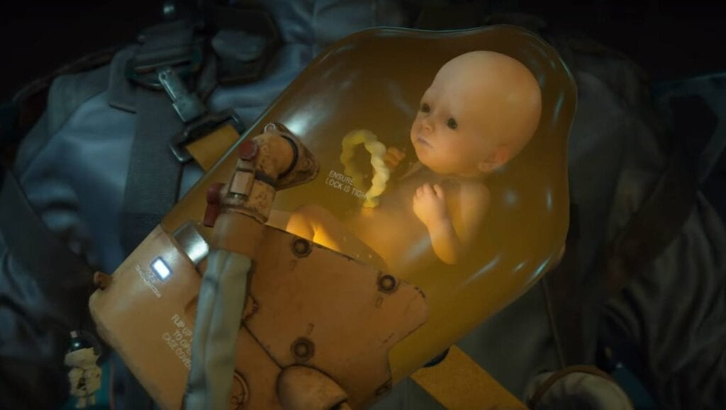Death Stranding Baby Will Communicate To You Via Controller