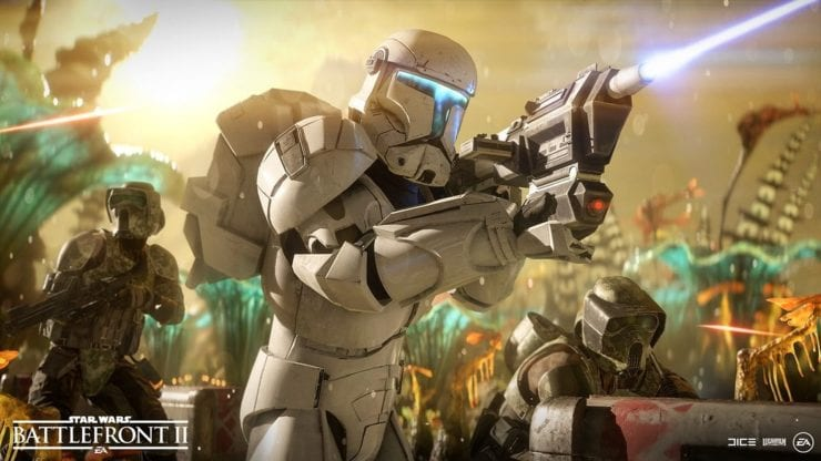 Star Wars Battlefront II Clone Commando