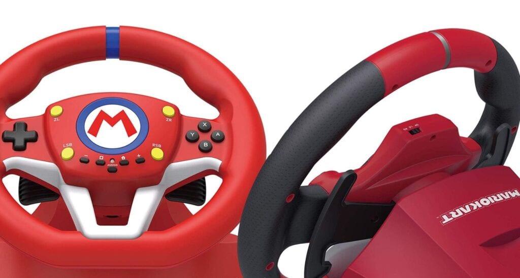 Mario Kart Racing Wheel From HORI Announced For Nintendo Switch