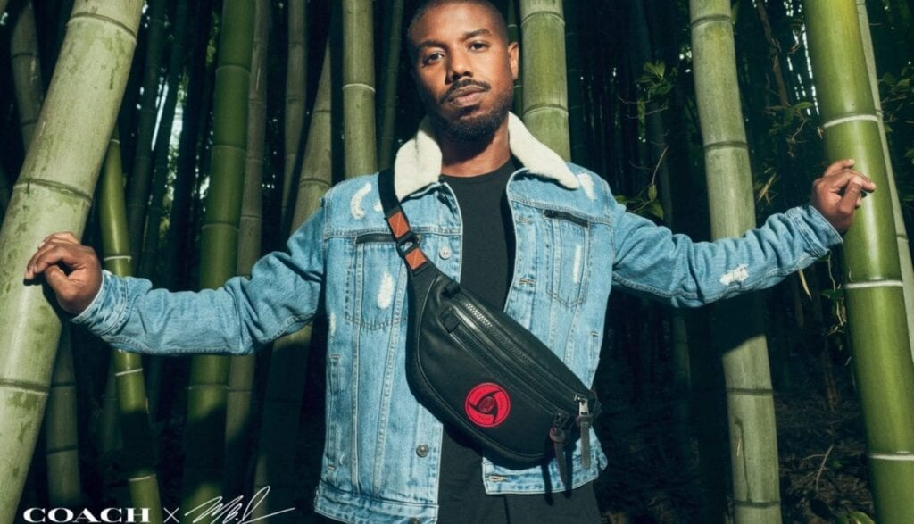 Michael B. Jordan's New Coach Collection Pays Tribute To Naruto