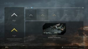 call of duty modern warfare progression ranking system