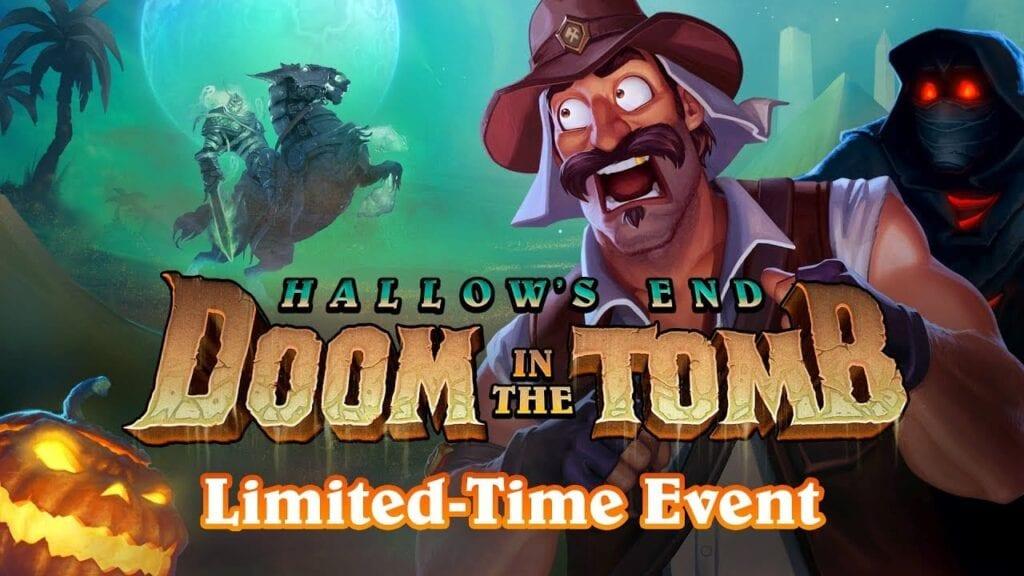 halloween doom in the tomb hearthstone