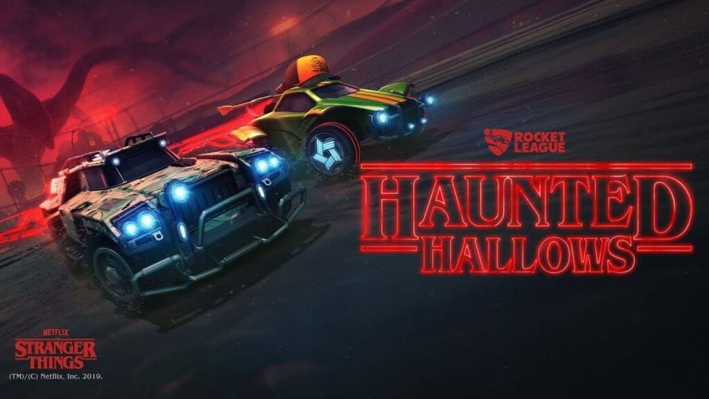 Rocket League Reveals Stranger Things Halloween Crossover Event (VIDEO)