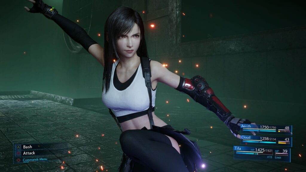 Final Fantasy VII Remake Footage Shows Off Tifa's Somersault Limit Break (VIDEO)