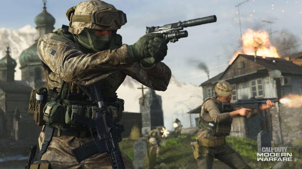 call of duty modern warfare feat