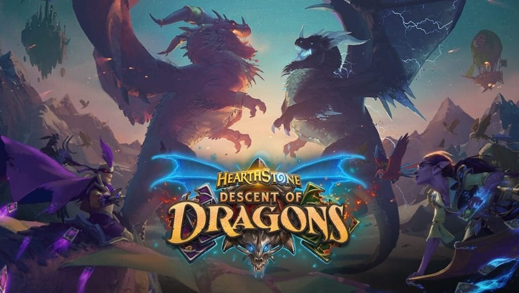 Hearthstone Descent of Dragons Expansion Announced With Cinematic Trailer (VIDEO)