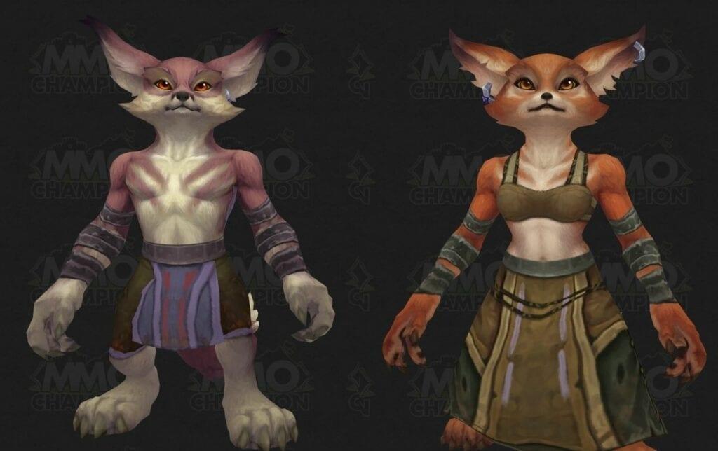 World of Warcraft Datamining Uncovers Vulpera Racial Abilities