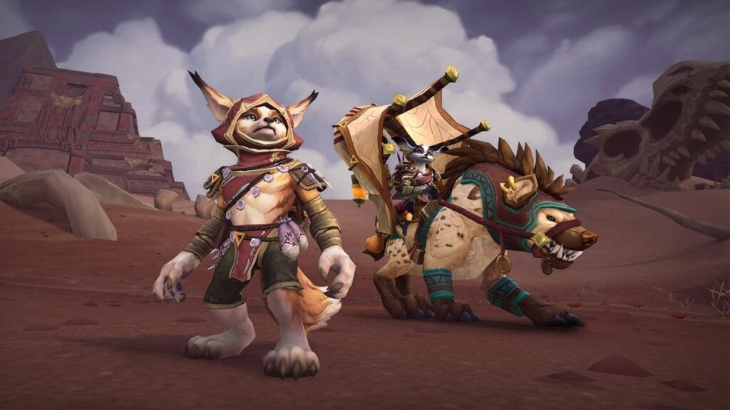 World of Warcraft Datamining Uncovers Vulpera Racial Abilities