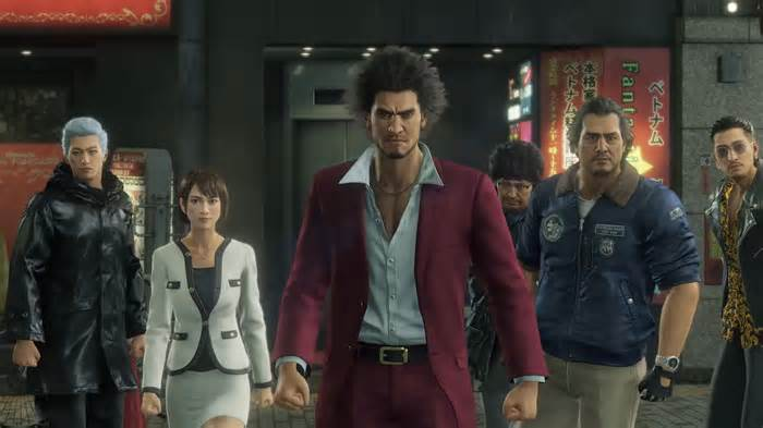 Yakuza Like a Dragon gameplay