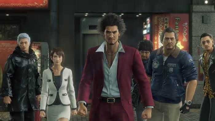 Yakuza Like a Dragon gameplay