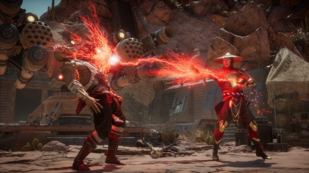 Bloody Mortal Kombat movie