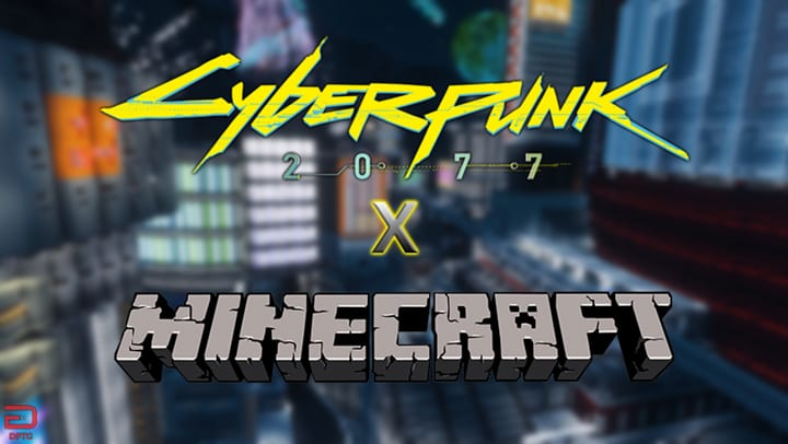 Cyberpunk 2077 x Minecraft