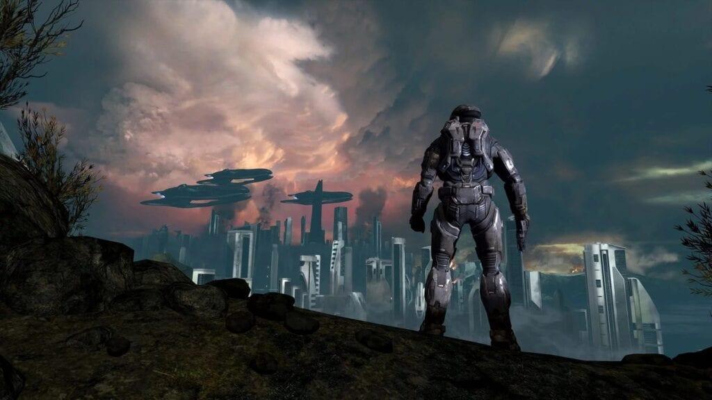 Halo: Reach third-person mod