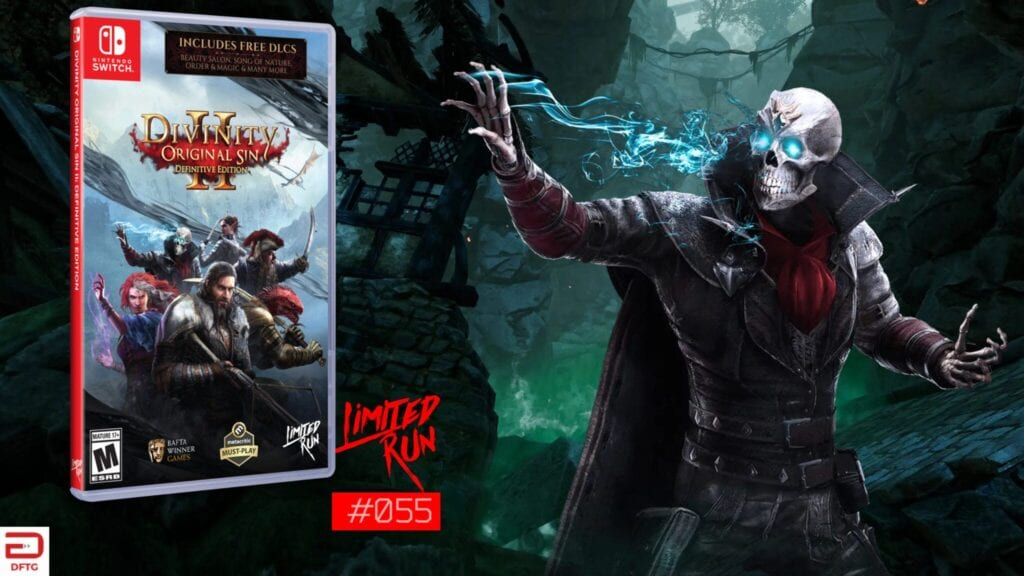 divinity original sin 2 limited run games nintendo switch feat