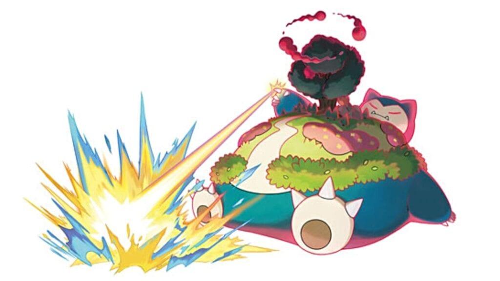 gigantamax snorlax pokemon sword and shield