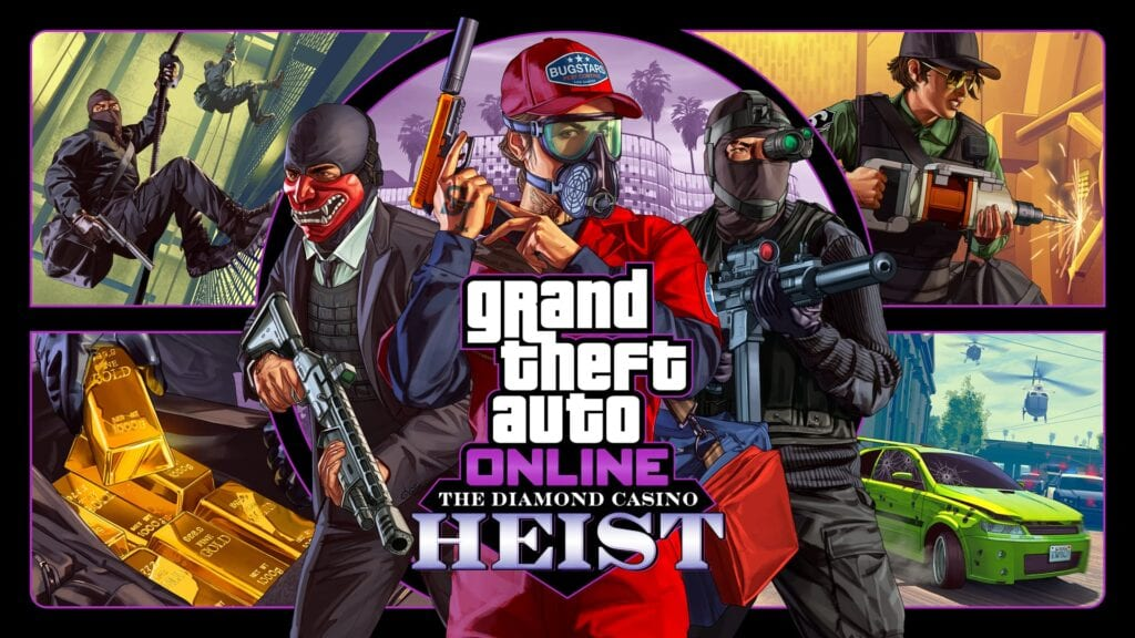 gta online the diamond heist