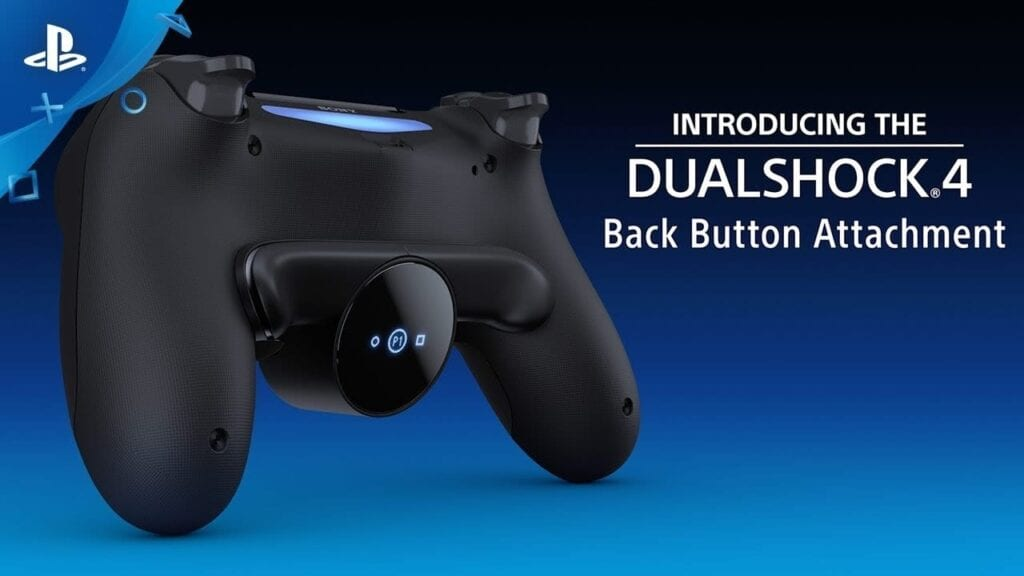 New DualShock 4 Back Button Attachment Revealed By Sony (VIDEO)
