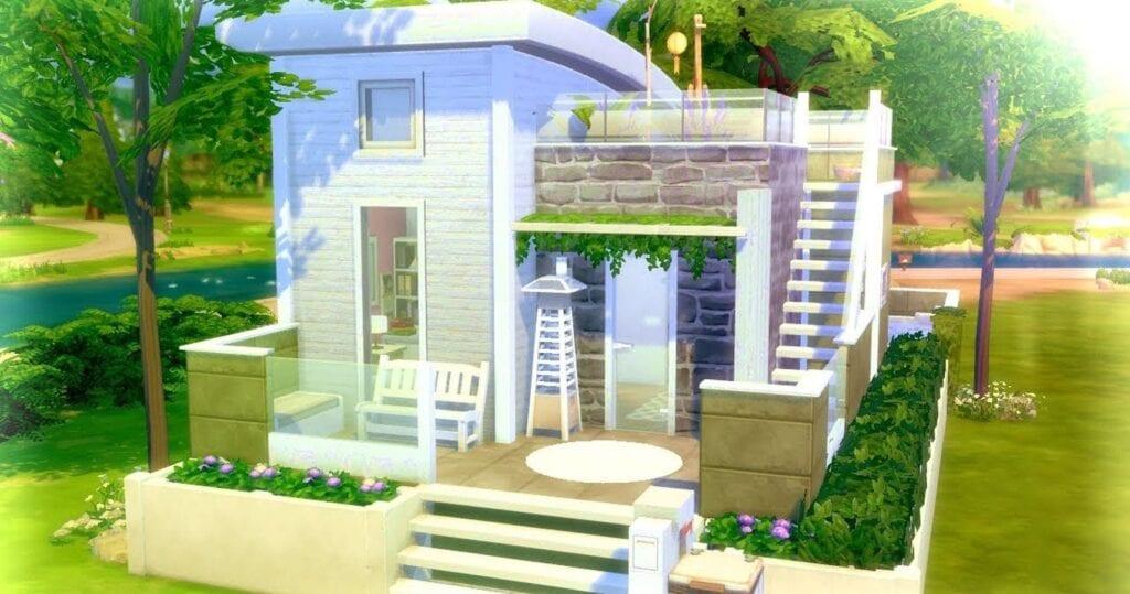 Sims 4 tiny house