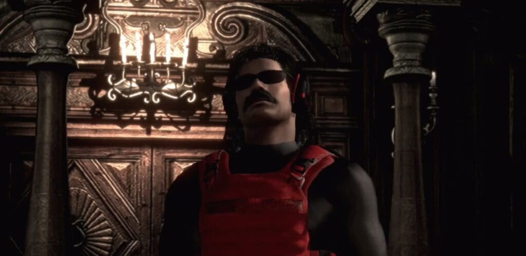 Resident Evil 2 Remake Mod Replaces Mr X With Dr Disrespect