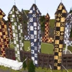 minecraft hogwarts harry potter feat