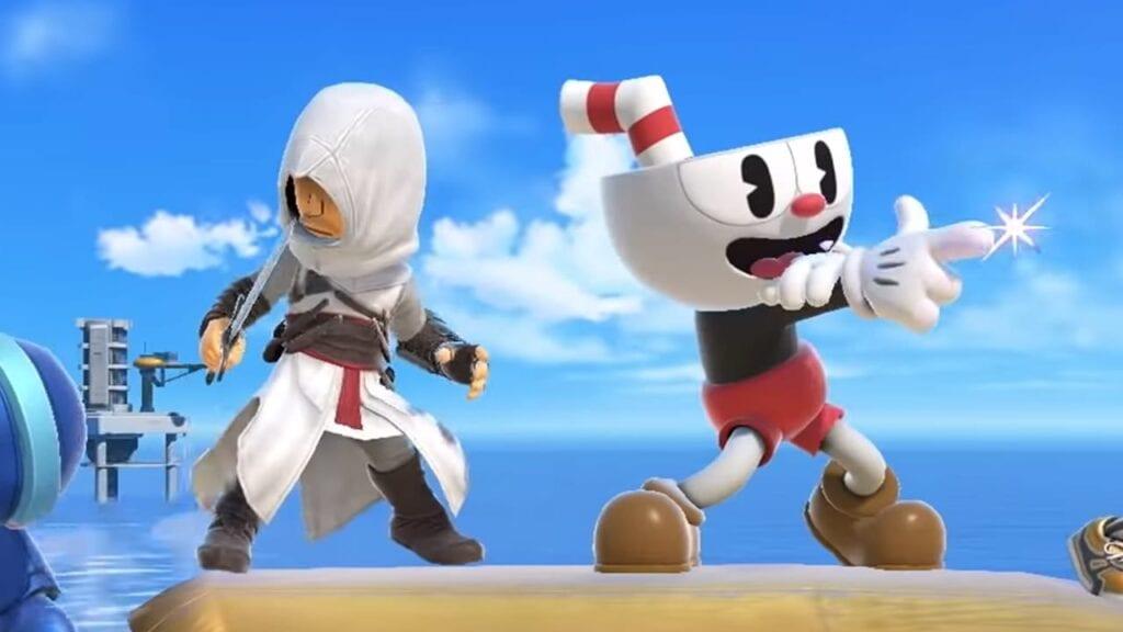 Super Smash Bros. Assassin's Creed Cuphead