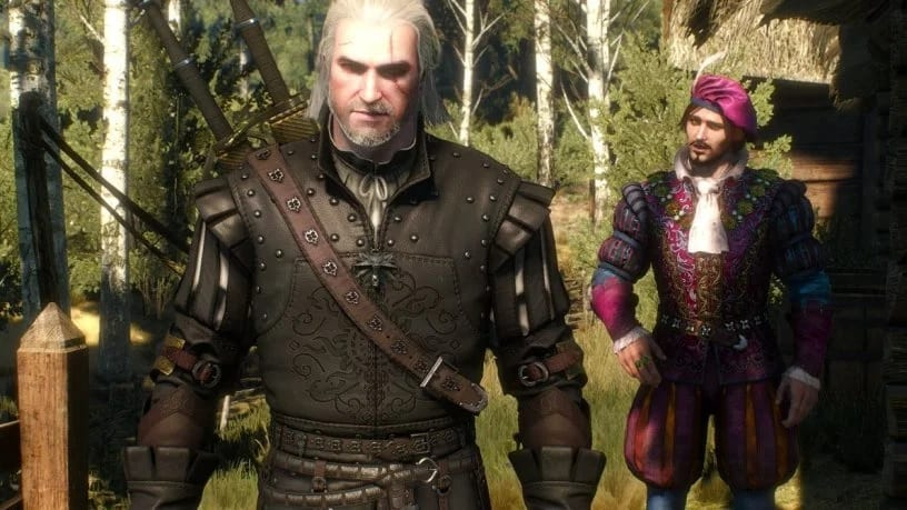 The Witcher Fans Petition For Geralt And Dandelion Romance Option