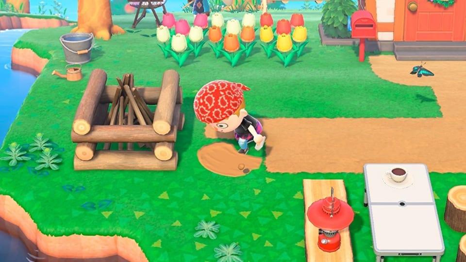 Animal Crossing New Horizons Terraforming