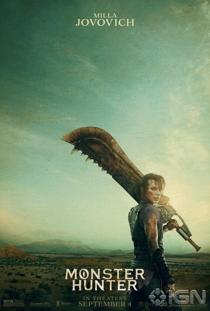Monster Hunter Movie Reveals Two New Character Posters