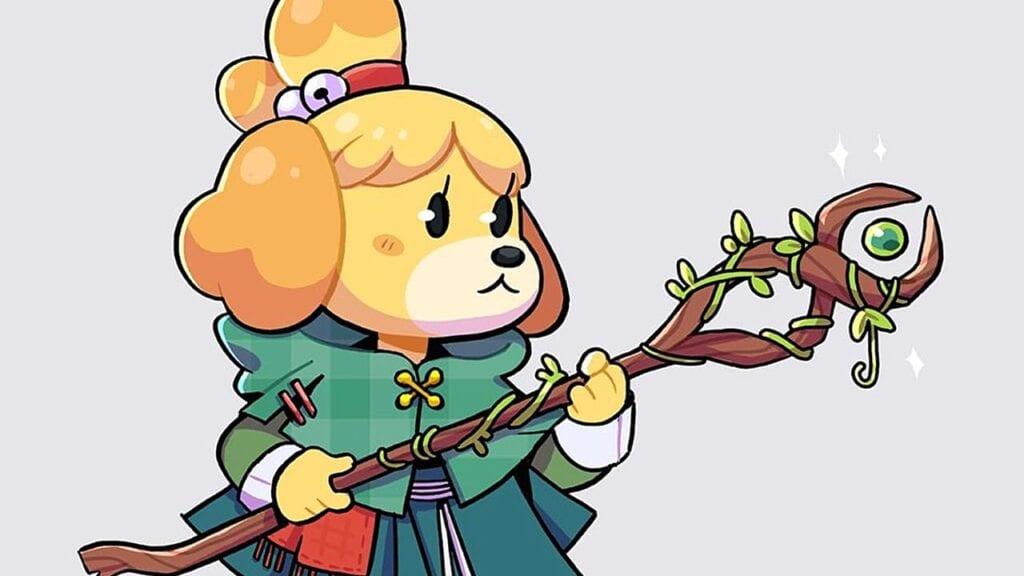 Animal Crossing Fan Art Fantasy RPG