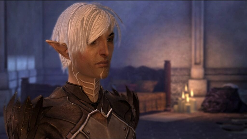 Dragon Age 2's Fenris Actor Performs Voice Dialogue For Blue Wraith