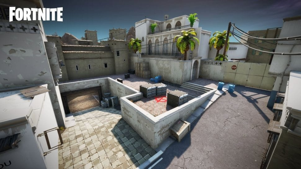 Fortnite Map Makers Recreate Counter-Strike's Iconic Dust 2