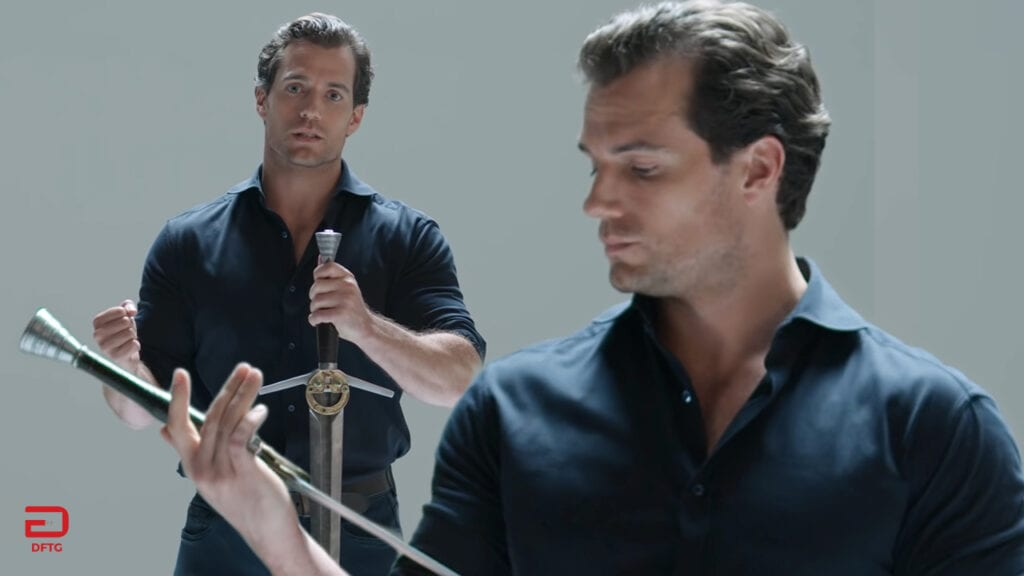 The Witcher Swords Explained By Netflix Series Star Henry Cavill (VIDEO)