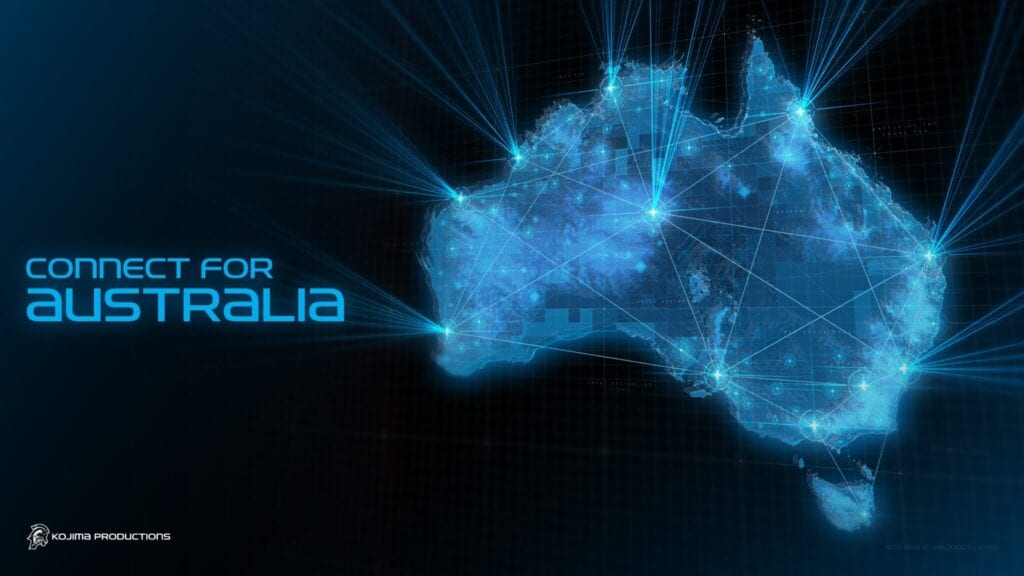 """Kojima Productions Selling """"Connect For Australia"""" Merch To Support Australian RSPCA"""