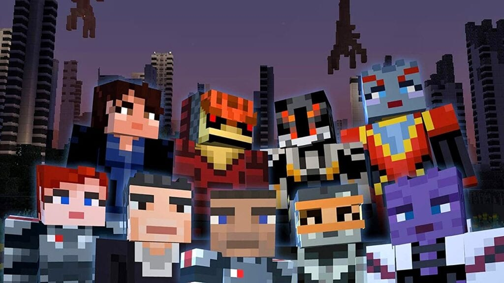 Minecraft Mass Effect