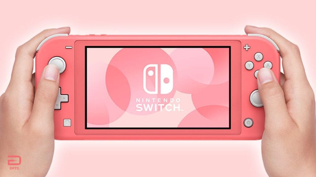 Nintendo Switch Lite Coral Pink Console Revealed
