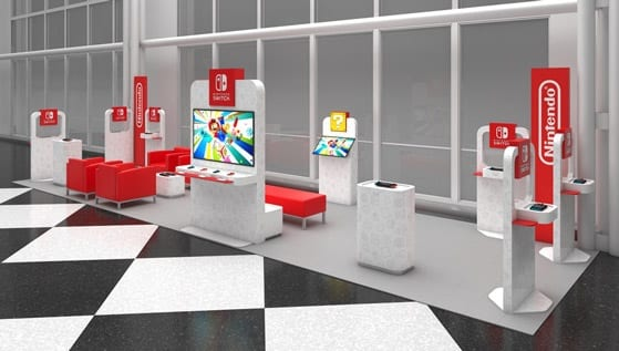 Nintendo Switch Pop-up Lounges Announced For U.S. Airports