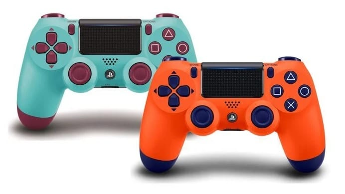 PlayStation 4 Orange And Berry Blue DualShock Controllers Are Back For A Limited Time