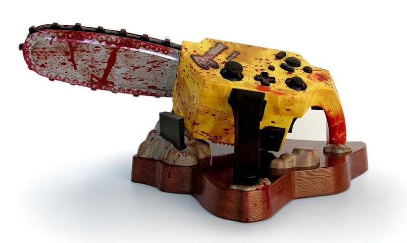 Resident Evil 4 custom Gamecube Chainsaw Controller