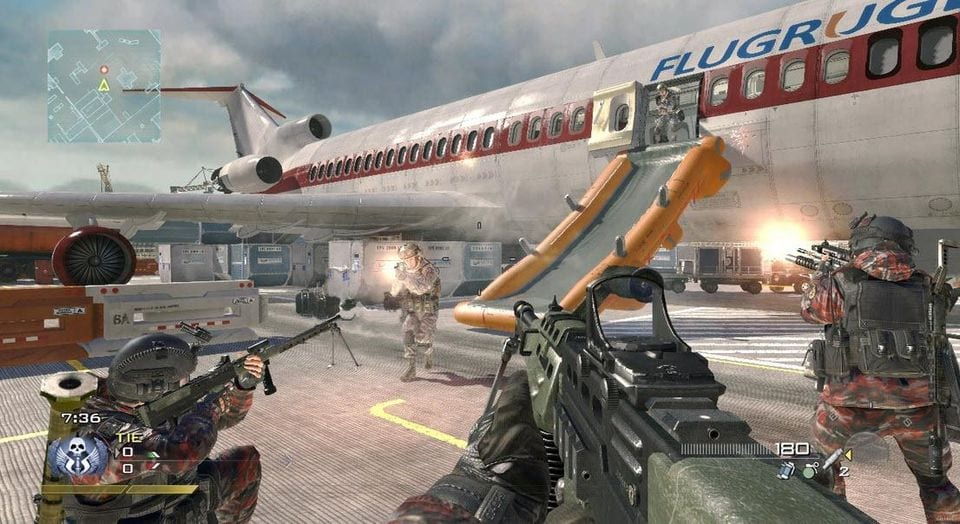 Four Call of Duty Games Modern Warfare 2 Remaster