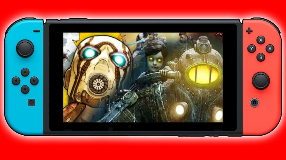 Borderlands BioShock Nintendo Switch 2K Games