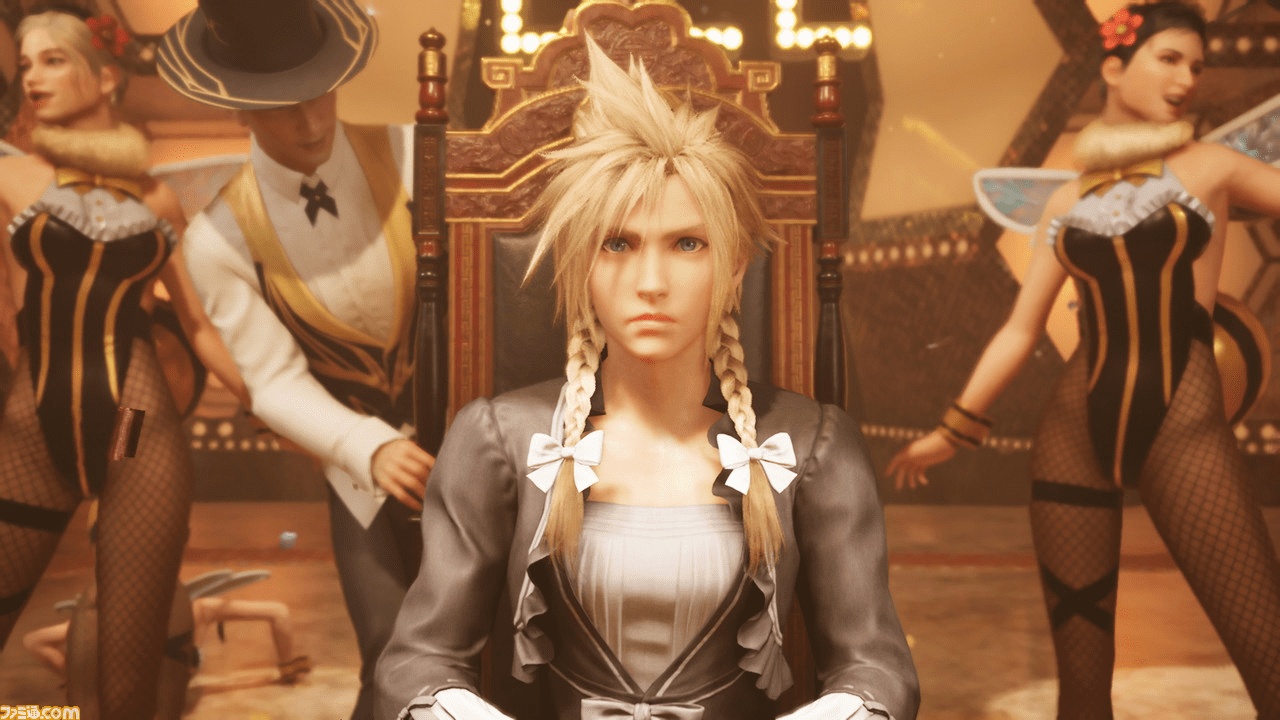New Final Fantasy VII Remake Screenshots Show Off The 'Women' Of FF7