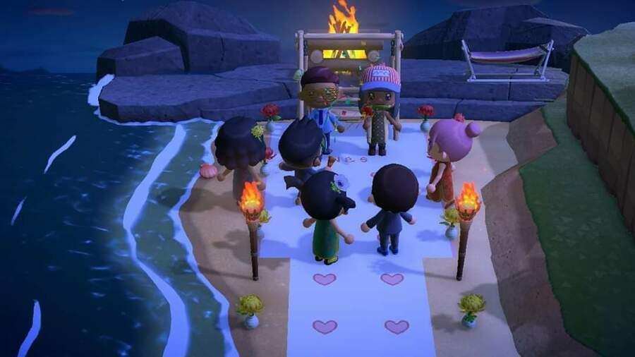 Animal Crossing New Horizons Wedding