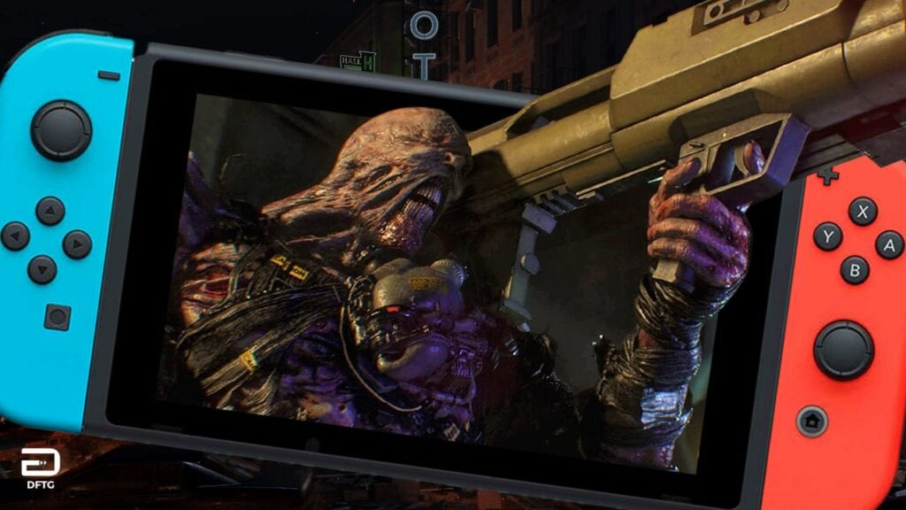 Resident Evil 3 Remake Nintendo Switch