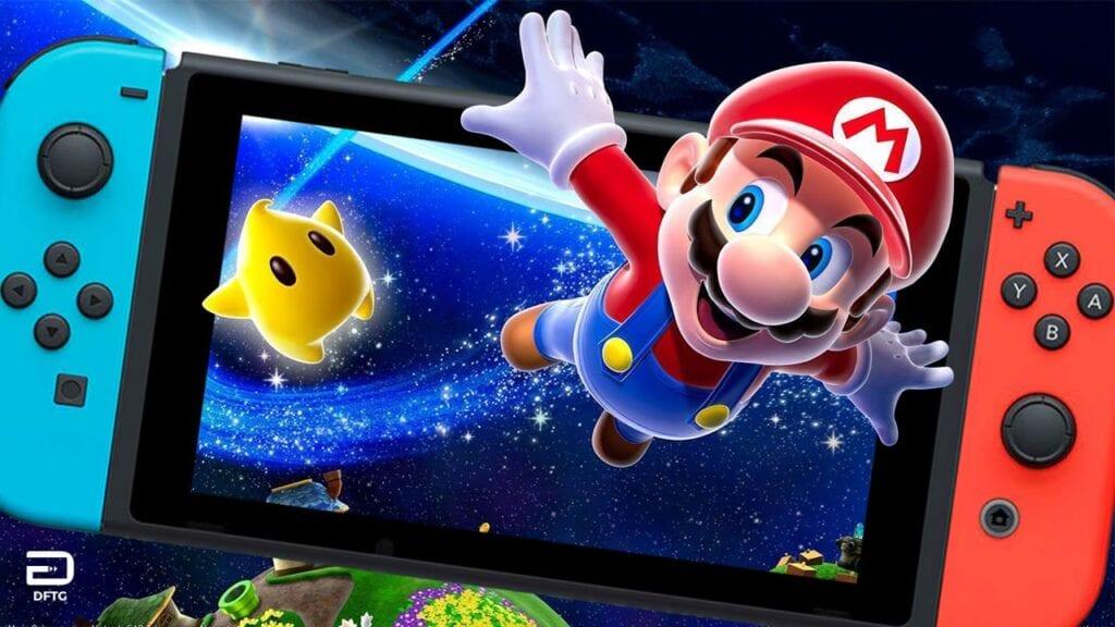 Super Mario Galaxy Nintendo Switch