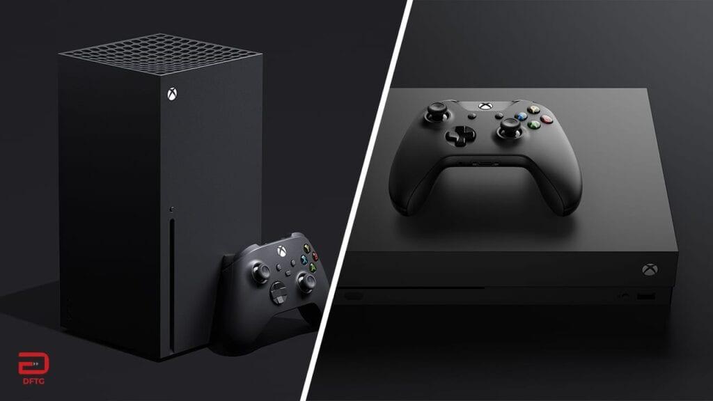 Xbox Series X Xbox One X