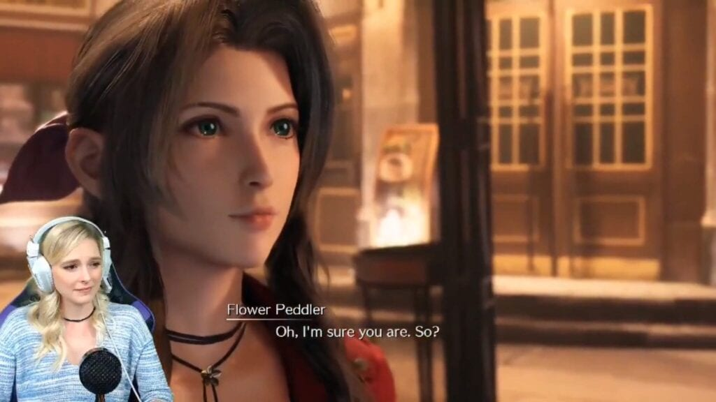 Final Fantasy VII Remake: Aerith Voice Actor Hears Herself In-Game For The First Time