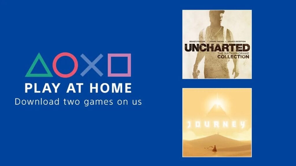 PlayStation Announces Two Free PS4 Games Via Sony's Play At Home Initiative
