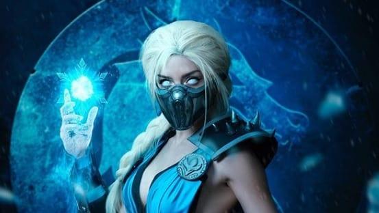 Mortal Kombat Frozen Mashup Cosplay Unleashes The Fatal Sub-Elsa