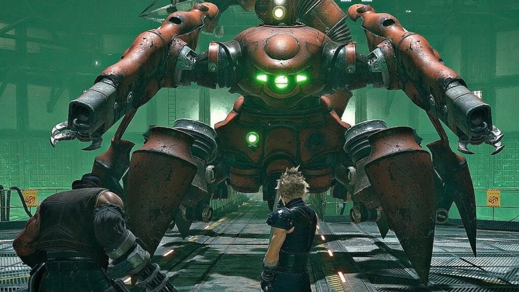 Final Fantasy VII Remake's Boss Battles Are Inspired By Manga, Says Dev